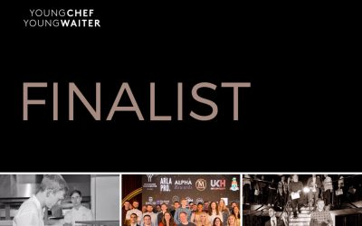 Young Chef Young Waiter Competition Finalist