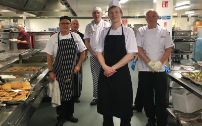 Catering Assistance In Harrogate District Hospital, during COVID-19 Crisis